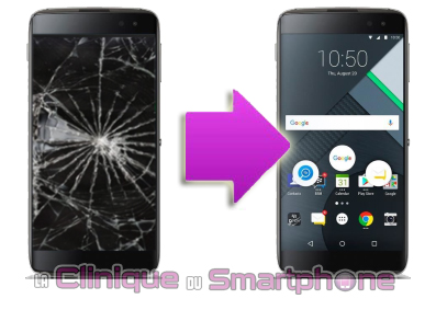Changement Ecran Blackberry DTEK 60 Lyon