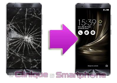 Changement bloc écran Asus Zenfone 3 Deluxe Lyon