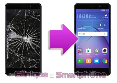 Remplacement Vitre Tactile + Ecran LCD Huawei Mate 9 Lite Lyon