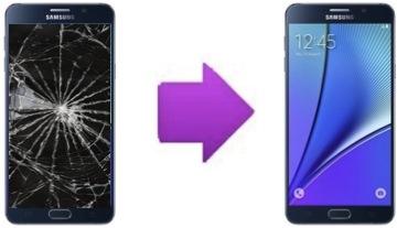 Changement bloc écran LCD + vitre tactile SAMSUNG Note 5 (N920)