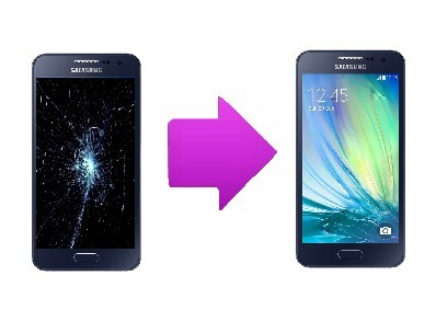 Remplacement Vitre tactile + écran LCD SAMSUNG Galaxy A8