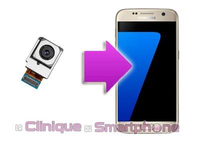 Remplacement Caméra Arrière Samsung S7 Edge sur Lyon