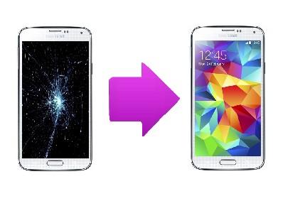 Réparation Ecran cassé Samsung Galaxy S5 Plus Lyon