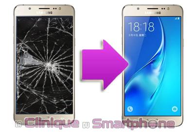 Changement bloc écran Samsung Galaxy J7 2016 (J710F) à Lyon