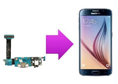 Remplacement connecteur de charge Samsung Galaxy S6 Edge sur Lyon