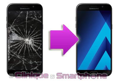 Remplacement Vitre Tactile + Ecran LCD Samsung Galaxy A7 (2017)
