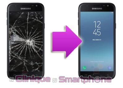 Remplacement bloc écran Samsung Galaxy J3 (2017) à Lyon