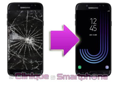 Remplacement bloc écran Samsung Galaxy J7 (2017) à Lyon
