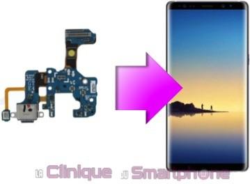 Changement connecteur de charge Samsung Galaxy Note 8
