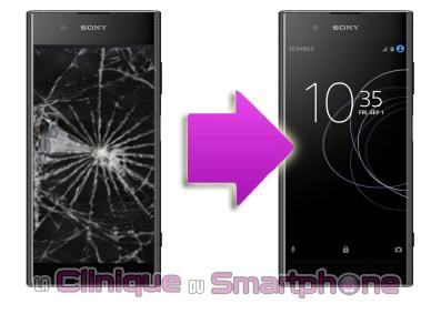 Remplacement bloc écran Sony xPeria XA1