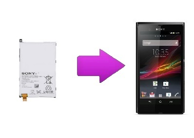 Changement batterie Sony Xperia Z1 Compact
