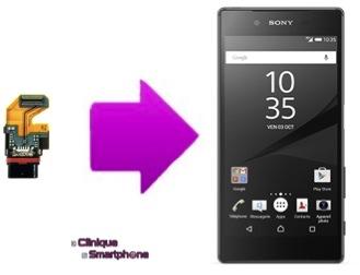 Réparation du connecteur de charge Sony Xperia Z5 / Z5 compact / Z5 Premium LYON